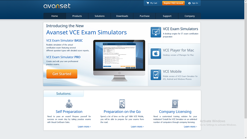 VCE Exam Simulator Pro 2.7 Crack [MAC & Win] 2021 Serial Key